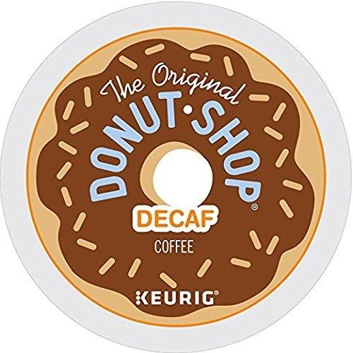 The Original Donut Shop Decaf Keurig Single-Serve K-Cup Pods, Medium Roast Coffee, 90 Count [Medium Roast Coffee]