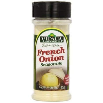 Vidalia Brand French Onion Seasoning, 4.25-Ounce (Pack of 4)