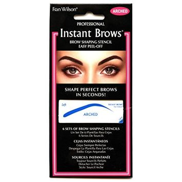 Fran Wilson Instant Brows Brow Shaping Stencil (ARCHED)