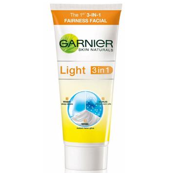 Garnier Skin Naturals Light 3-In-1 Fairness Facial
