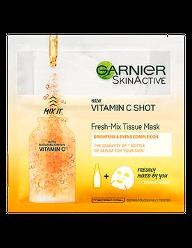 Garnier SkinActive Vitamin C Shot Fresh-Mix Tissue Mask