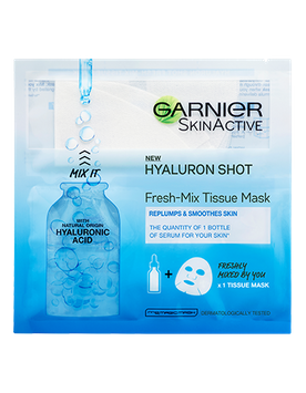 Garnier SkinActive Hyaluron Shot Fresh-Mix Tissue Sheet Mask
