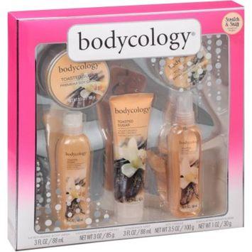 Bodycology Toasted Sugar Bath Gift Set, 5 pc
