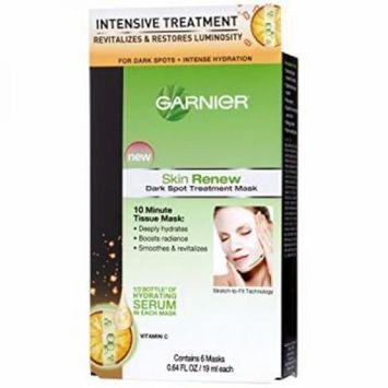 Garnier Dark Spot Treatment Mask For Dark Spots Plus Intense Hydration, 0.64 Fluid Ounce