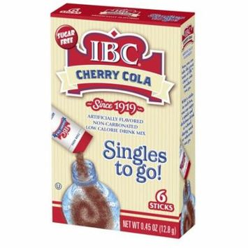 IBC Drink Mix Singles To Go! Cherry Cola, 6-ct box