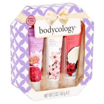 Bodycology Moisturizing Body Cream Gift Set, 2 oz, 3 count