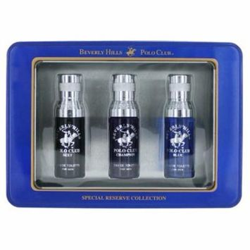 Beverly Hills Polo Club Special Reserve 3 Piece Mini Set men Blue