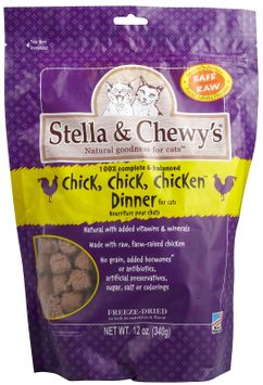 Stella Chewys Stella and Chewys Freeze Dried Chicken Cat Food