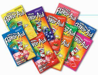 FlavorAid Unsweetened Assorted flavor packets, 10 ct. - THE JEL SERT COMPANY