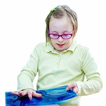 Fun and Function Gel Pad Elements for Tactile and Multi-Sensory Handwriting, and Encouraging Touch Learning, 2 Pack