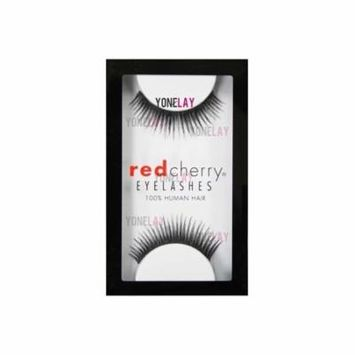 False Eyelashes #1 (6 pairs pack), 6 pairs of Human Hair Red Cherry #1 Chloe By Red Cherry