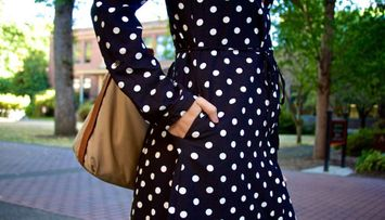 The Perfect Polka Dots for Fall