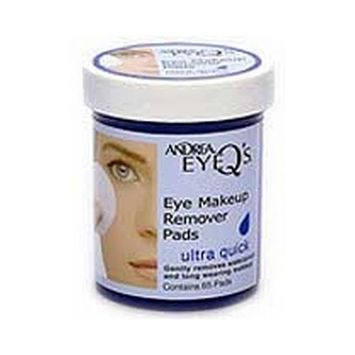 Eye Q'S Ultra Quick Eye Make-Up Remover Pads,65-count (3-Pack)