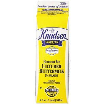 Knudsen Cultured 2% Reduced Fat Buttermilk - 1 Quart