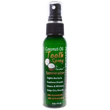 Greensations, Coconut Oil Tooth Spray, 2 oz (60 ml)