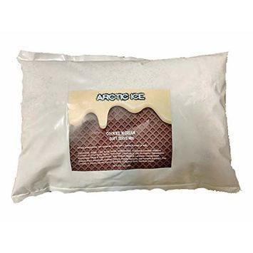 Arctic Ice Soft Serve Mix, Cookies and Cream Ice Cream, 3 lb Bag (Works Great for Rolled Ice Cream)