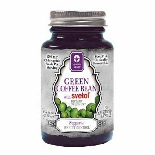 Genesis Today Green Coffee Bean With Svetol Veggie Capsules 60 Ea
