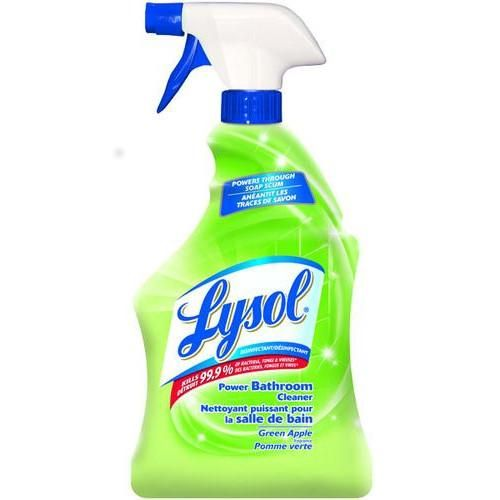 Lysol Green Apple Power Bathroom Cleaner