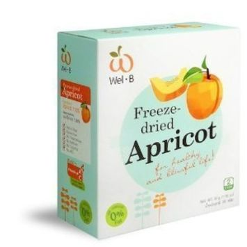 Wel-b Freeze Dried Apricot Freeze Dried Fruit 100% Natural Healthy Freeze Dried Food Snack Food Healthy Snack