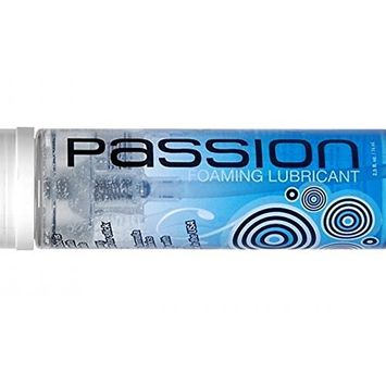 Passion Specialty Formulas Natural Water Based Foaming Lubricant : Size 2.5 Fl. Oz.