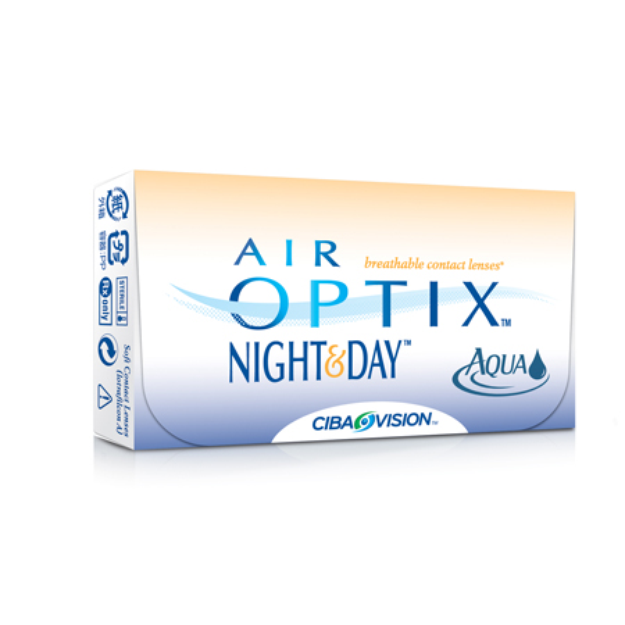 Air Optix Night & Day Aqua Contact Lenses 1 Box