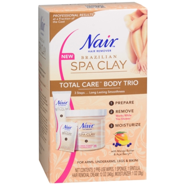 Nair Spa Clay Body Trio