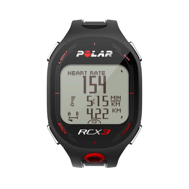 Polar Cic, Inc. Polar RCX3 Sports Watch with Smart Coaching Black