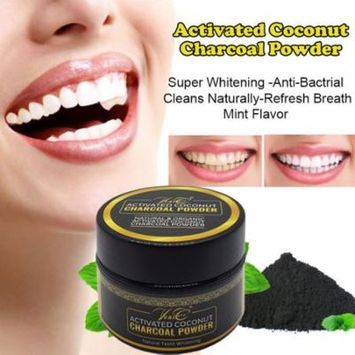 100% Organic Coconut Activated Charcoal VeniCare Natural Teeth Whitening Powder 59 ML