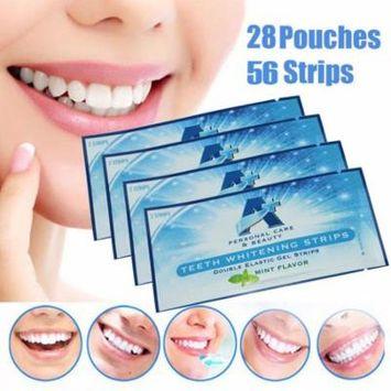 56 Strips A+ Whitening Strips Advanced Teeth Whitening Strips Double Elastic Gel