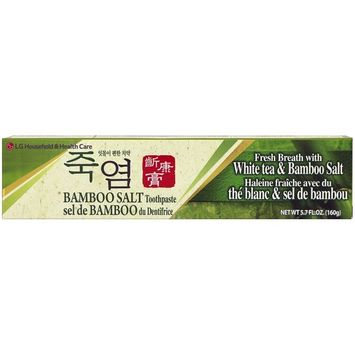 LG Household & Health Care Bamboo Salt Toothpaste