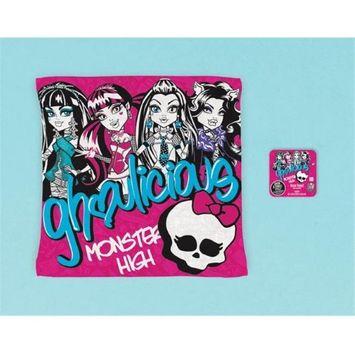 Amscan 394638 Monster High Grow Towel - Pack of 12