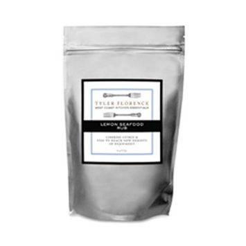 Tyler Florence West Coast Kitchen Essentials Meyer Lemon Seafood Rub, 4-Ounce Pouches (Pack of 6)