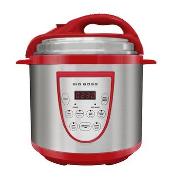 Emson Big Boss 6-Quart Pressure Cooker