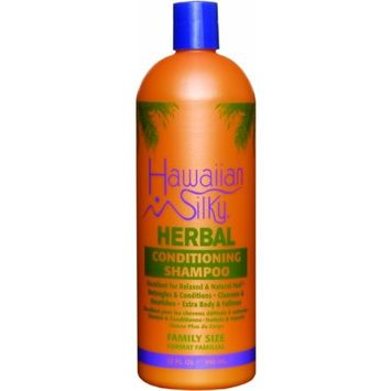 Hawaiian Silky Herbal Conditioning Shampoo 32 oz.