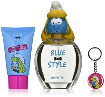 First American Brands The Smurfs Blue Style Smurfette Gift Set