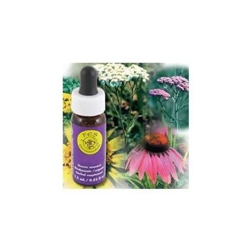 FES QUINTESSENTIALS Flower Essence Services - Dropper Yarrow Environment Solutions - 0.25 oz. ( Multi-Pack)