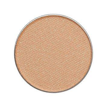 Zuzu Luxe Natural Eye Shadow Pro Palette Refill Pan Venom Buttery Yellow Shimmer