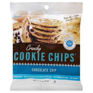 HannahMax Baking Crunchy Cookie Chips Chocolate Chip 2 oz