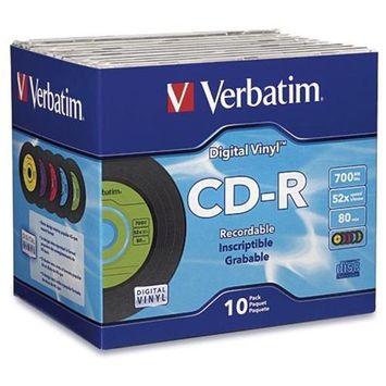 Verbtm Verbatim Digital Vinyl 52x CD-R Media