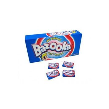 Bazooka Original Bubble Gum, 120-Count Gum Pieces (Pack of 3)