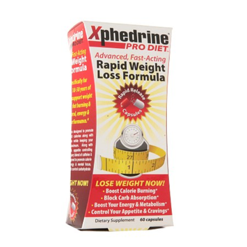 Xphedrine Pro Diet Rapid Weight Loss Formula