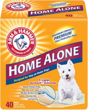 ARM & HAMMER™ Designed For Stay-At-Home Dog Home Alone Floor Protection Pads