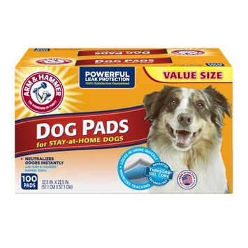 ARM & HAMMER™  Absorbent Dog Pads Dog
