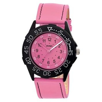Women's Crayo Fun Watch with Leather Strap