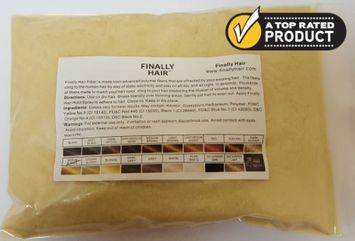 Hair Loss Concealer 456g Refill Refill Bag - 456 Gram 1 Pounder Hair Loss Solution