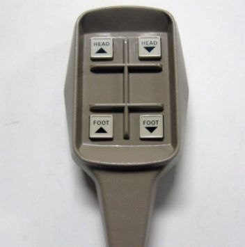 Joerns Hospital Bed Hand Control Semi Electric 15 Pin Rectangle Plug