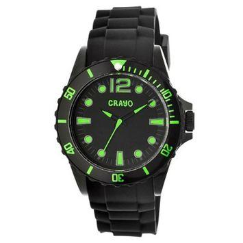 Men's Crayo Fierce Watch with Polyurethane Strap