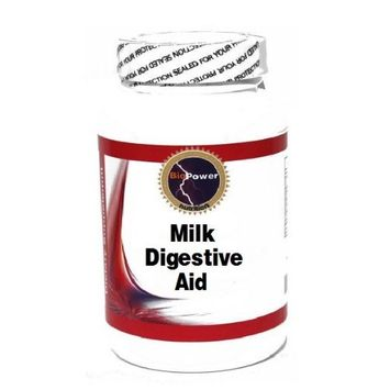 Milk Digestive Aid 120 Capsules # BioPower Nutrition