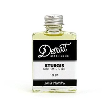 Detroit Grooming Co. - Beard Oil - Sturgis | Oil For All Beards | Helps Soften And Condition Dry And Itchy Beards