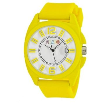 Women's Crayo Sunset Watch with Silicone Strap